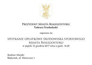 Zaproszenie na Opłatek1